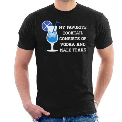 Anti Men Male Tears Cocktail Men's T-Shirt