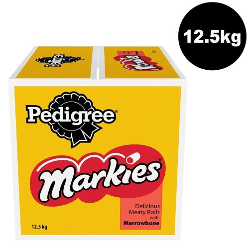 PEDIGREE Markies Biscuits Dog Treats With Marrowbone 12.5kg