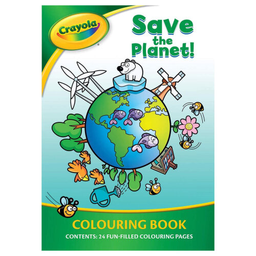 Save The Planet Colouring Book