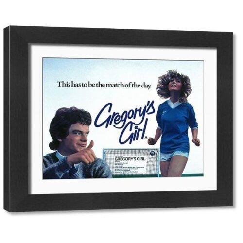 Film Poster for Bill Forsyths Gregorys Girl (1980) (Framed Print)