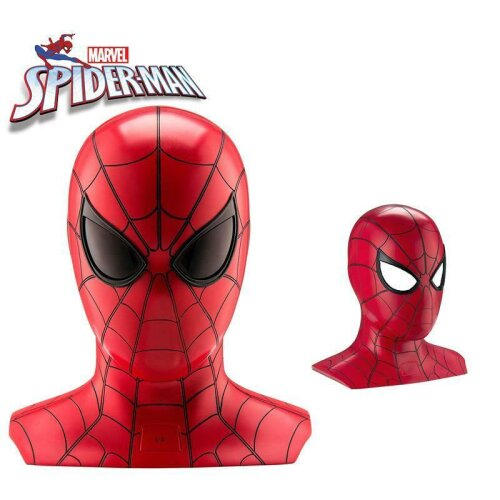 Spiderman Bluetooth Speaker Wireless Portable with Animated Eyes