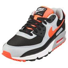 Nike Air Max 90 Mens Fashion Trainers in Black Grey