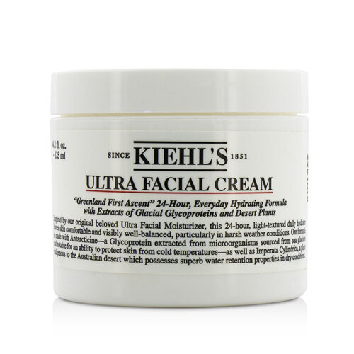 Kiehl's Ultra Facial Cream Moisturizer 125ml 4.2oz