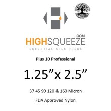 1.25x2.5 HighSqueeze Rosin Micron Extraction Filter Bags