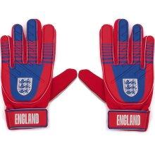 England Official Football Gift Kids Youths Goalkeeper Goalie Gloves