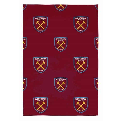 West Ham United FC Fleece Throw Blanket