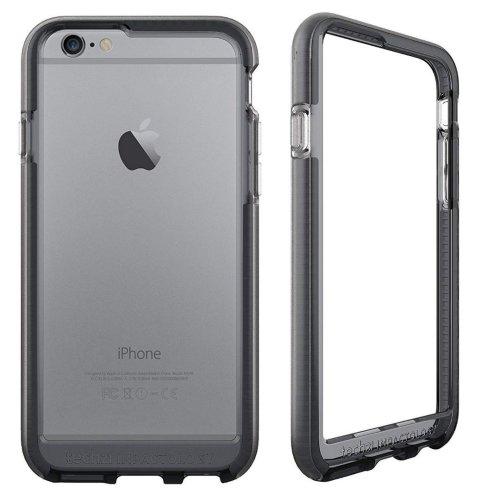Smokey Black Evo Band RIM Cover FlexShock for iPhone 6, 6S by Tech21