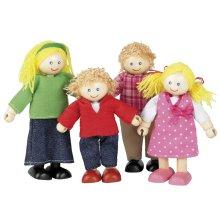 Tidlo Wooden Doll Family