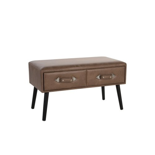 Suitcase Coffee Table Brown AMTRAK