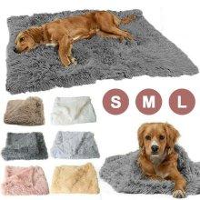 Pet Dog Puppy Cat Blanket Bed Soft Fluffy Warm Throw Mat Pad