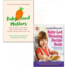Baby led weaning recipe, food matters 2 books collection set