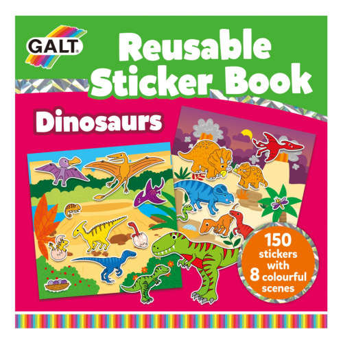 Reusable Sticker Book - Dinosaurs