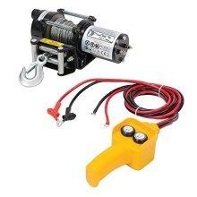 Silverline Diy 12v Electric Winch 2000lb - 748850 Lbs -  electric winch silverline 12v 748850 diy 2000lb lbs