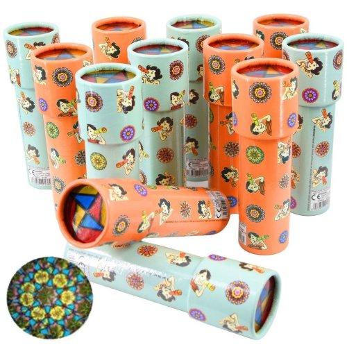 The Magic Toy Shop Set of 12 Kids Kaleidoscope Toy