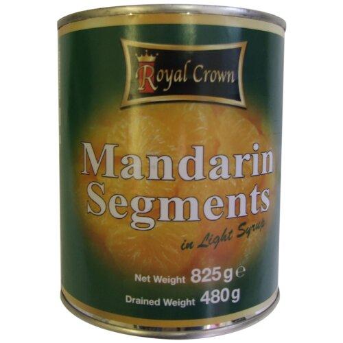 Royal Crown Mandarins in Syrup - 6x840g