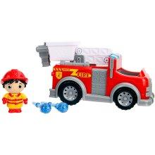 Ryans World 253193002 6 Inch Ryan with Fire Engine