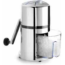 Stainless Steel Manual Ice Crusher with Rotary Handle
