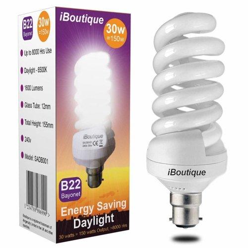 iBoutique 30W Energy-Saving Daylight Bulb | Daylight Light Bulb