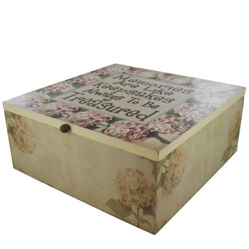 Keepsake Box Memories Like Keepsakes Always to Be Treasured