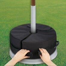 Sand Bag Weights Outdoor Umbrella Parasol Tent Base Stand Patio Garden Sunshade