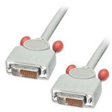 LINDY 0.5m DVI-D Cable Dual Link Premium