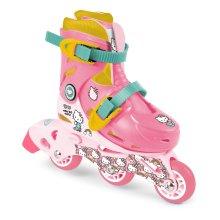 HELLO KITTY Hello Kitty Club Children's Tri-to-Inline Skates, Size 9 to 11.5 UK