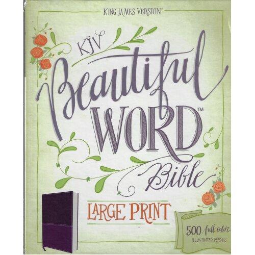 KJV, Beautiful Word Bible - Used