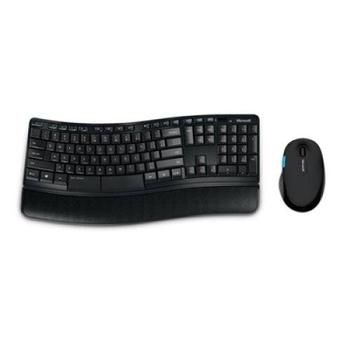 Microsoft Sculpt Comfort Desktop Wireless Ergonomic Keyboard And Mouse Set L3V-00006