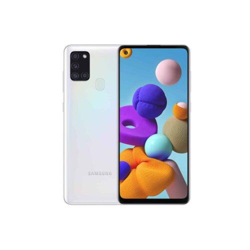 (Unlocked, White) Samsung Galaxy A21s Dual Sim | 64GB | 4GB RAM