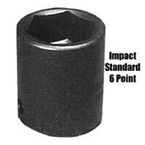 Sunex SUN538 1 Inch Drive Standard 6 Point Impact Socket - 1-3/16 Inch