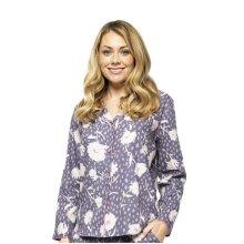 Cyberjammies Serena 4552 Women's Lilac Mix Floral Print Pyjama Top