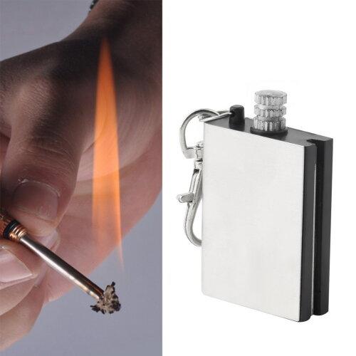 Emergency Fire Starter Flint Match Lighter Camping Instant Survival Tool