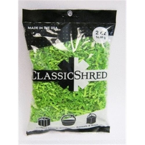 Mayflower 61002 2 oz Paper Shred - Lime