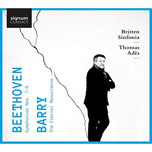 BRITTEN SINFONIA THOMAS ADES JENNIFER FRANCE CH - BEETHOVEN: SYMPHONIES NOS. 7-9   BARRY: THE ET [CD]