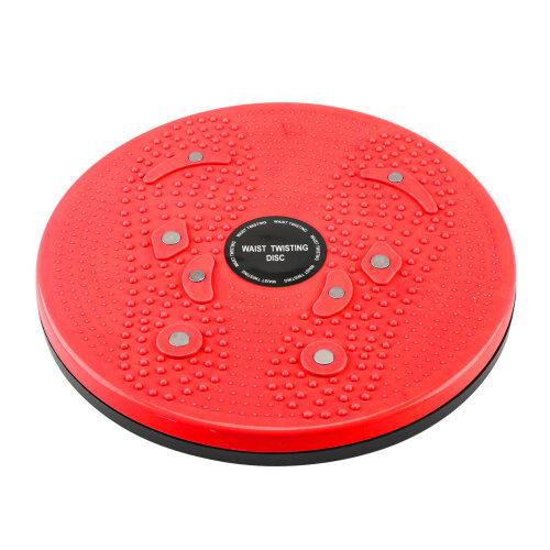 (Orange) Twist Exercise Board Waist Torsion Fitness