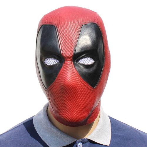 Halloween Mask Halloween Party Dance Mask Deadpool Latex Props
