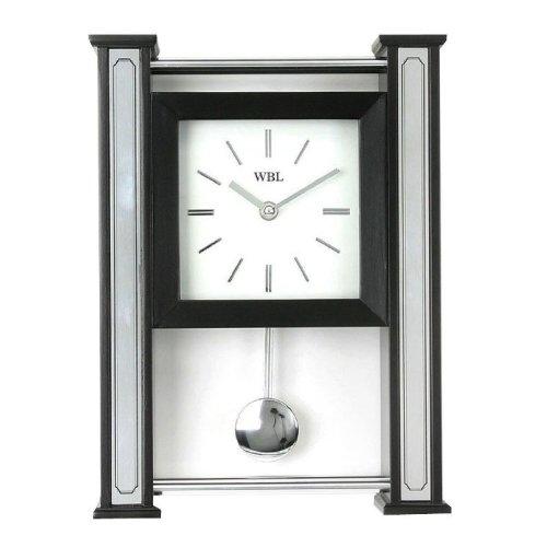 William Widdop Ultra Modern Wall or Mantel Clock with Moving Pendulum