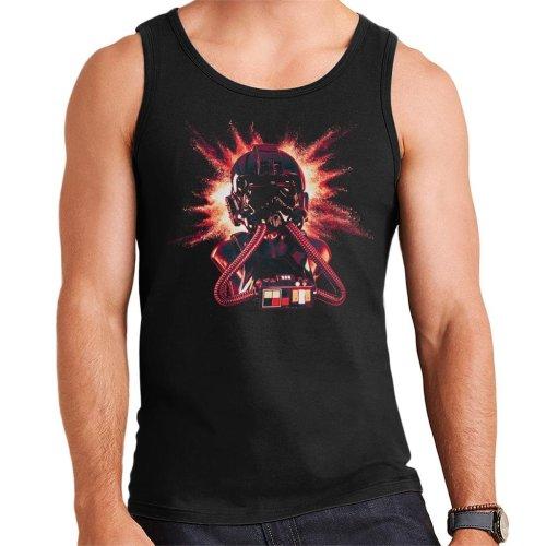 Original Stormtrooper Imperial Pilot TIE Helmet Explosion Men's Vest