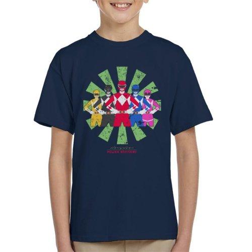 Power Rangers Retro Japanese Kid's T-Shirt