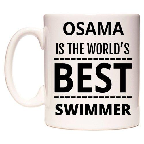 OSAMA Is The World's BEST Swimmer Mug