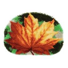 "Latch Hook Kit ""Autumn Leaf"" 52x38cm"
