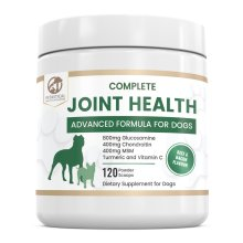 Hip and Joint Powder Supplement for Dogs | 800mg Glucosamine Turmeric