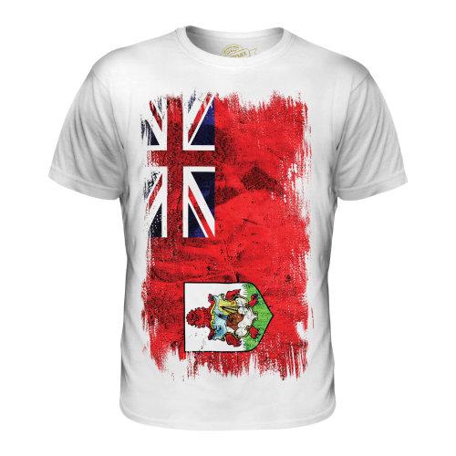 Candymix - Bermuda Grunge Flag - Men's T-Shirt Top