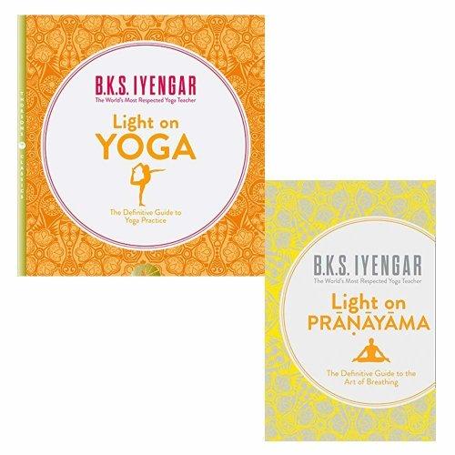 Light on Yoga 2 Books Collection Set Light on Pranayama