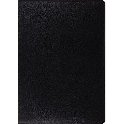 ESV Study Bible (Bonded Leather, Black)