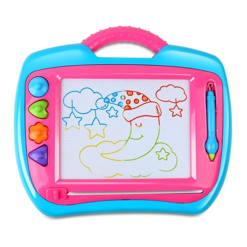 BeebeeRun Magnetic Drawing Board big magnetic board Erasable Scribble Board Drawing Toys for kid 3, for Girls Boy