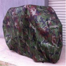 Heavy Waterproof Motorcycle Dustproof Motorbike Shelter Camouflage