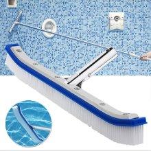 "18"" Cleaning Brush Swimming Pool Floor Wall Brush"