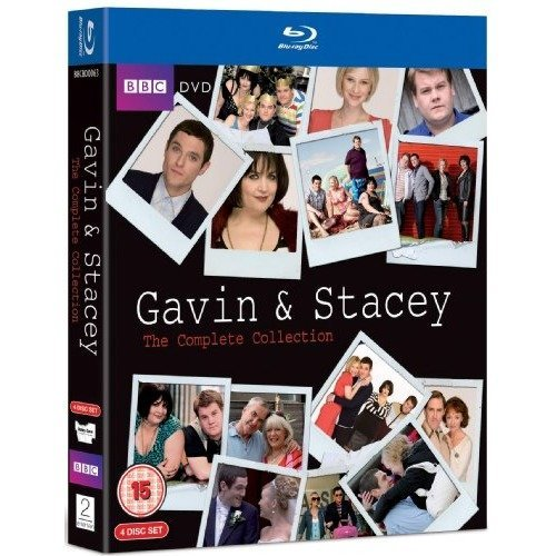 Gavin And Stacey Series 1 to 3 Complete Collection Plus Xmas Special Blu-Ray [2009]