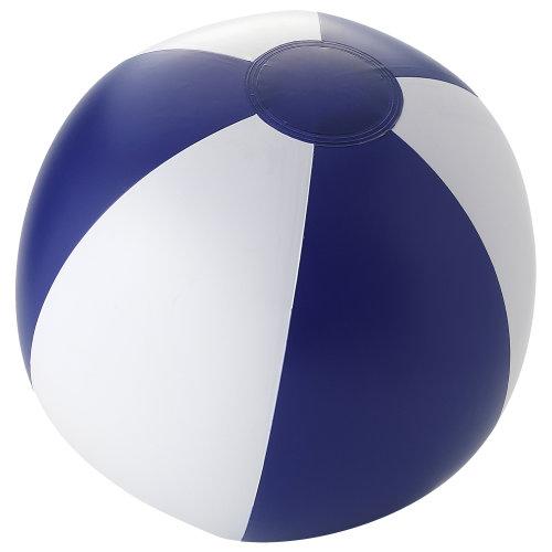 (25 cm, Blue/White) Bullet Palma Solid Beach Ball